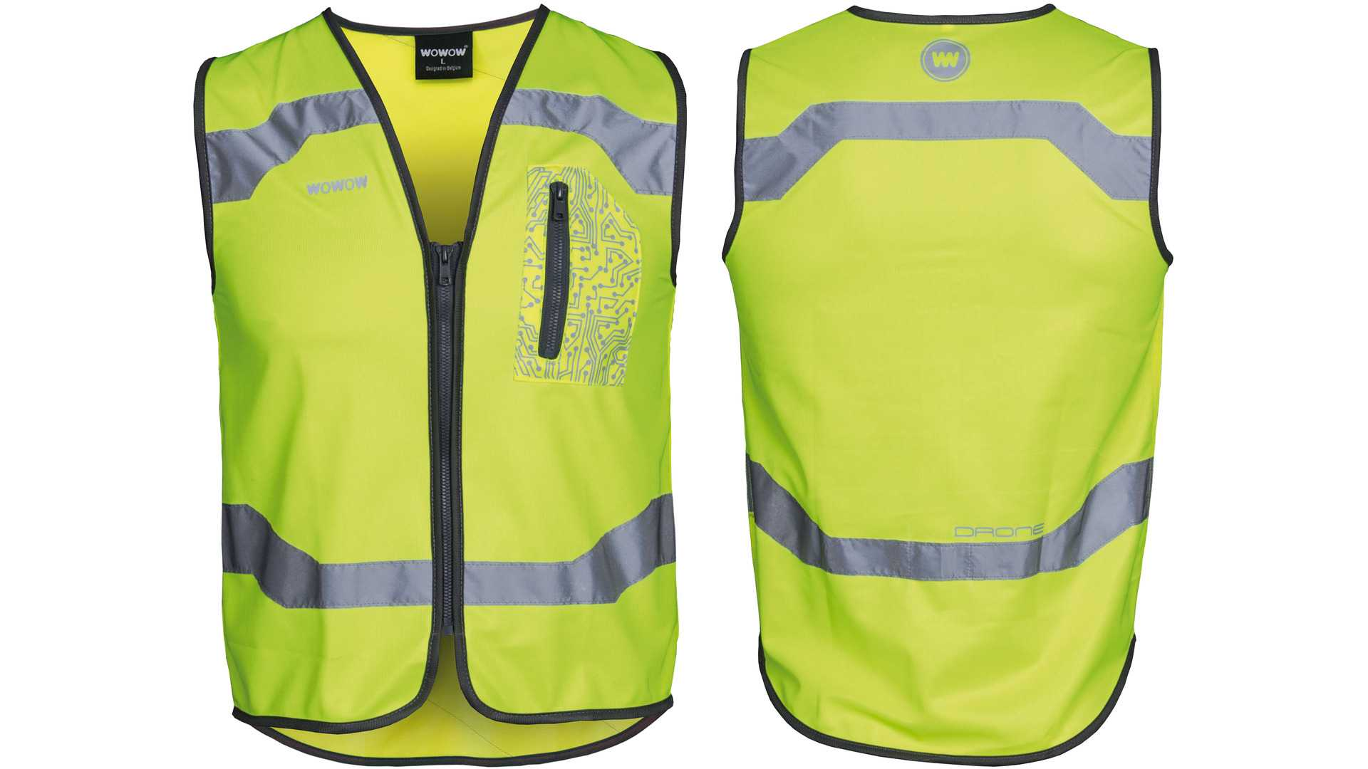 Wowow Reflecterende vest drone maat xxl - 011603