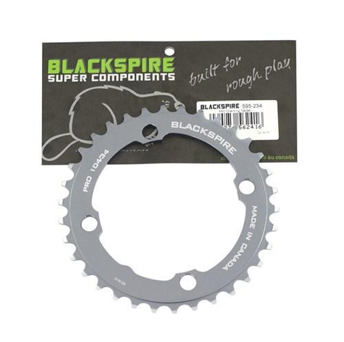 BLACKSPIRE KETTENBLATT PRO 74//24 silber Fahrrad