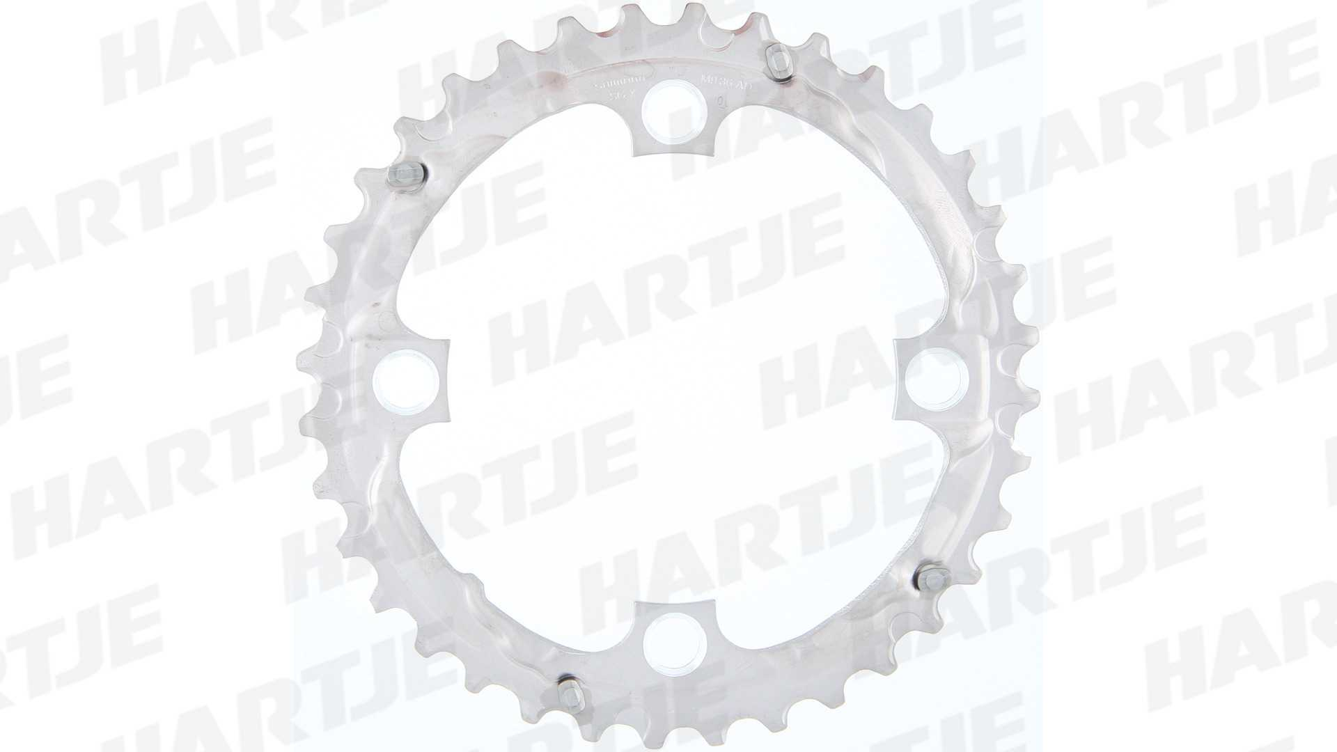 989bb5ecd8f Shimano Chainring slx fc-m660 36T silver 9sp - Y1KF98050 for sale at ...