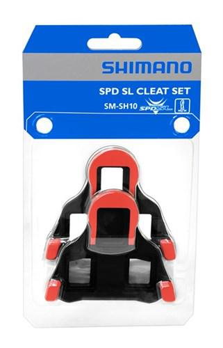 b0a0284d5 Shimano Cleats sm-sh10 spd-sl fixed red - Y42U98020 for sale at ...