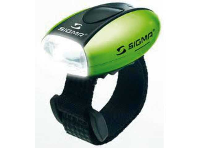 sigma micro white led frontlight green 17239