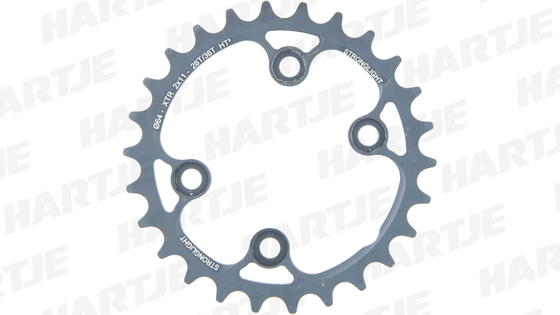 10b7d574d80 Stronglight Chainring HT3 26T inner chainring Shimano XTR FC-M9000 FC-M9020  2x11sp -