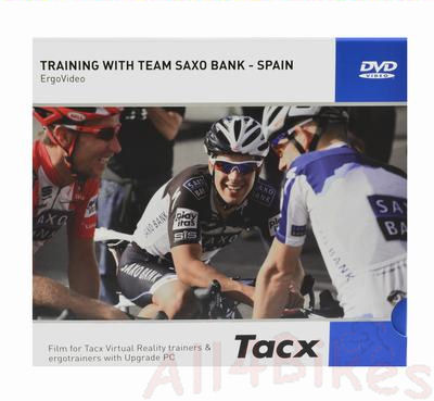 Tacx Ergo video training with team saxo bank - T1957.14