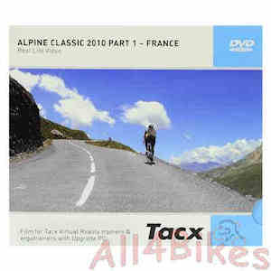 Tacx Real life video alpine classic 2010 part 1 france - T1956.54