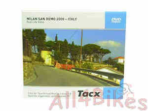 Tacx Real life video milan san remo 2008 italy - T1956.37