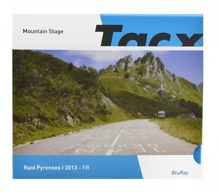 Tacx Real life video raid pyrenees i fr blue-ray - T2056.07
