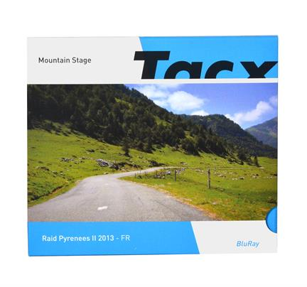 Tacx Real life video raid pyrenees II fr blue-ray - T2056.08