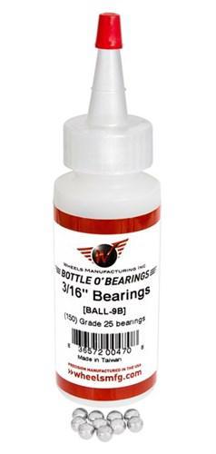 """Wheels Manufacturing Grade 25 3//16/"""" Loose Ball Bearing Bag of 25"""