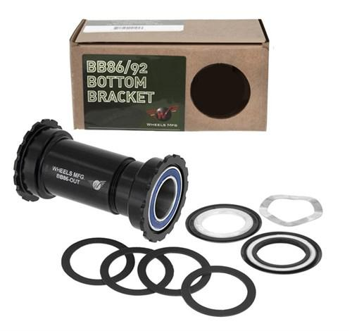 Wheels Manufacturing Outboard BB86//92 SRAM Bottom Bracket w// Angular Bearings